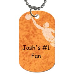 Basketball By Amy Tollefson   Dog Tag (two Sides)   Mr2uhez9dx0p   Www Artscow Com Back