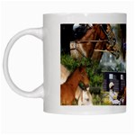 Harness Racing White Mug