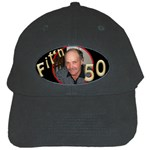 Fit n 50 Cap - Black Cap