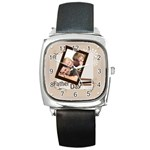 love of father - Square Metal Watch