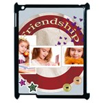 friendship - Apple iPad 2 Case (Black)