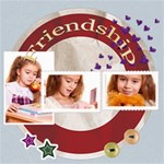 friendship - ScrapBook Page 8  x 8
