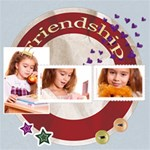 friendship - ScrapBook Page 12  x 12