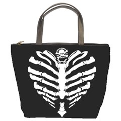 Boney Heart Dl : Bucket Purse By Von Zombie ™©®   Bucket Bag   L53utguto6fp   Www Artscow Com Front