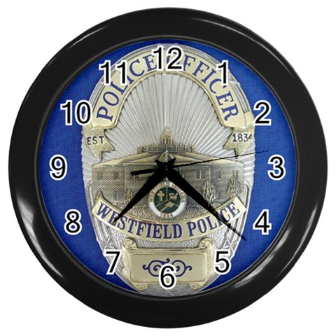 Wpd Clock By Deedee Rushforth   Wall Clock (black)   85exn1iekhx6   Www Artscow Com Front