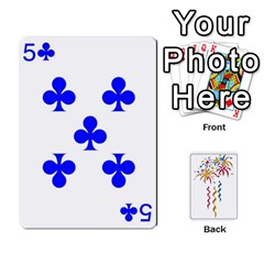 Hanabi W/ Regular Deck Symbols By Adam Kunsemiller   Playing Cards 54 Designs   O8ene6vy7nso   Www Artscow Com Front - Club2