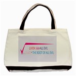 Square Root of all Evil Classic Tote Bag (Two Sides)