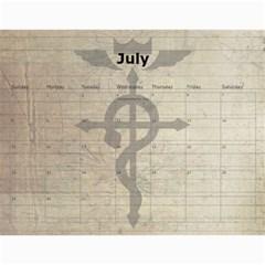 Fma Calendar By Krystal   Wall Calendar 11  X 8 5  (12 Months)   0ajhowbjvil7   Www Artscow Com Jul 2012