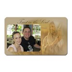 Trust in the lord magnet - Magnet (Rectangular)