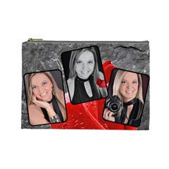 Large Bete By Dentebel   Cosmetic Bag (large)   Sd58c801yie9   Www Artscow Com Front