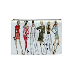 Etc 2012 Summer Group 1 By Lori Cronican   Cosmetic Bag (medium)   Zwzqcn88qf22   Www Artscow Com Front