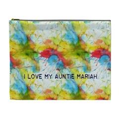 Mariah Bag By Amber Jordan   Cosmetic Bag (xl)   03qsup07d6z4   Www Artscow Com Front