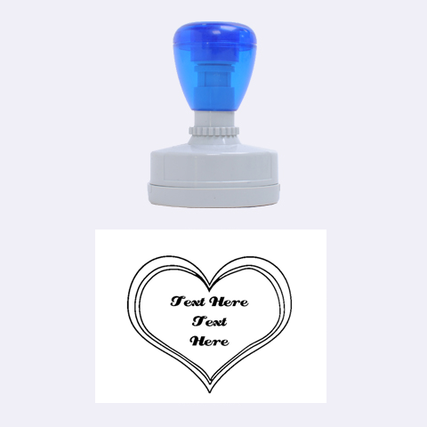 Heart Stamp By Kathi Bothwell 1.88 x1.37  Stamp