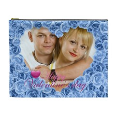 Love Of Rose By May   Cosmetic Bag (xl)   Uivtor092sn1   Www Artscow Com Front