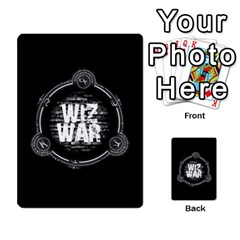 Wiz War (ita) 1/3 By Rabdomante   Playing Cards 54 Designs   95h8e9u811bf   Www Artscow Com Back