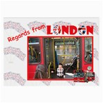 Regards from London - Glasses Cloth (Large)