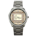 CRISWELL WATCH 2 - Sport Metal Watch