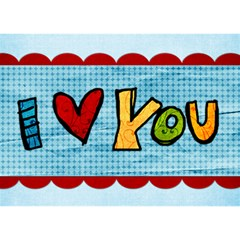 Cheery Love 3d By Albums To Remember   I Love You 3d Greeting Card (7x5)   Dzz24ohe9i1m   Www Artscow Com Front