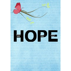 Hope 3d By Albums To Remember   Hope 3d Greeting Card (7x5)   Nmv304xltsc2   Www Artscow Com Inside