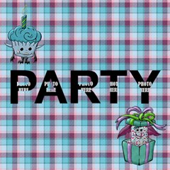 3d Monster Party Invitation 1 By Lisa Minor   Party 3d Greeting Card (8x4)   Rxxq9n41ik1e   Www Artscow Com Inside