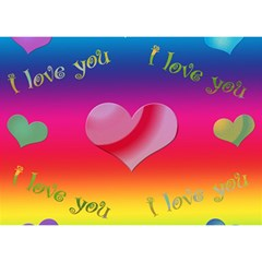 I Love You   3d Card By Kdesigns   I Love You 3d Greeting Card (7x5)   E7osjncn68bl   Www Artscow Com Back