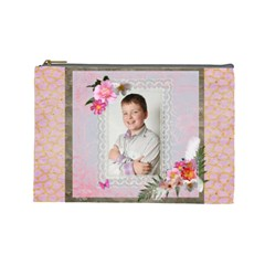 Portrait Large Cosmetic Bag By Catvinnat   Cosmetic Bag (large)   2d74kr482k5t   Www Artscow Com Front