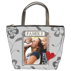Family Bucket Bag By Lil    Bucket Bag   Rfeccsp0vyk0   Www Artscow Com Front