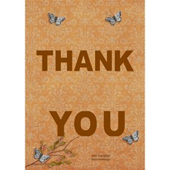 Thank You 3d Card (7x5) : Thankful2 By Jennyl   Thank You 3d Greeting Card (7x5)   1ylrcbayzyxl   Www Artscow Com Inside