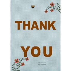 Thank You 3d Card (7x5) : Thankful3 By Jennyl   Thank You 3d Greeting Card (7x5)   U0qbkfis22t4   Www Artscow Com Inside