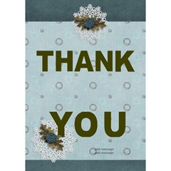 Thank You 3d Card (7x5) : Thankful5 By Jennyl   Thank You 3d Greeting Card (7x5)   Yva9xy0y470w   Www Artscow Com Inside
