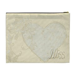 Bliss Extra Large  Cosmetic Bag  By Catvinnat   Cosmetic Bag (xl)   I7am9j290z9x   Www Artscow Com Back