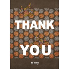 Thank You 3d Card (7x5) : Thankful6 By Jennyl   Thank You 3d Greeting Card (7x5)   Tkqtxy4ga0s4   Www Artscow Com Inside