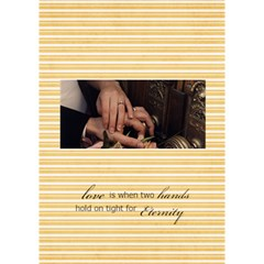 Hands For Eternity Card By Sheena   I Love You 3d Greeting Card (7x5)   Cgs6gd1fsn4y   Www Artscow Com Inside