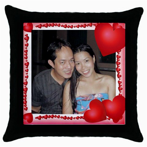 Mhelanpillow1 By Bernadette Simon Villaverde   Throw Pillow Case (black)   Rc2lzgv63ssl   Www Artscow Com Front