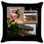 mhelapillow2 - Throw Pillow Case (Black)