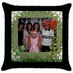 mhelanpillow4 - Throw Pillow Case (Black)
