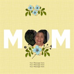 Mom 3d Card (8x4): Mom 3 By Jennyl   Mom 3d Greeting Card (8x4)   7z03dtpak0lq   Www Artscow Com Inside