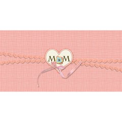 #1 Mom 3d Cards (8x4)  By Jennyl   #1 Mom 3d Greeting Cards (8x4)   30anevgi0rsv   Www Artscow Com Front