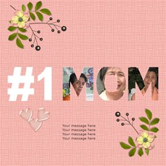 #1 Mom 3d Cards (8x4)  By Jennyl   #1 Mom 3d Greeting Cards (8x4)   30anevgi0rsv   Www Artscow Com Inside