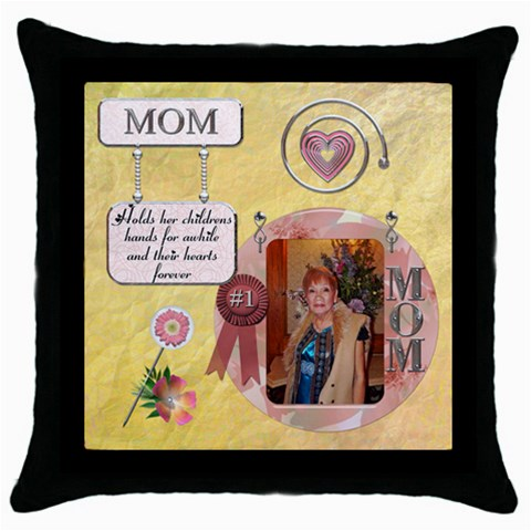 Mhelanpillow8 By Bernadette Simon Villaverde   Throw Pillow Case (black)   H9xbeb2nexhq   Www Artscow Com Front