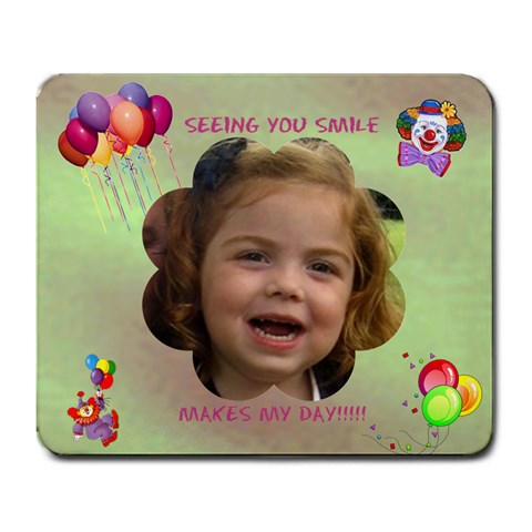 Smile By Malky   Large Mousepad   9m3spufkmwsv   Www Artscow Com Front