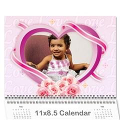 Calendersruthi By Soujanya   Wall Calendar 11  X 8 5  (18 Months)   Gonhuem46ywe   Www Artscow Com Cover
