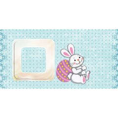 Easter Hugs 3d Card By Catvinnat   Hugs 3d Greeting Card (8x4)   Bl2bx80uaamw   Www Artscow Com Back