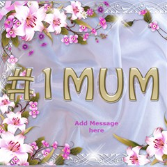 No1 Mum 3d Card By Deborah   #1 Mom 3d Greeting Cards (8x4)   X8y790d7cwyy   Www Artscow Com Inside