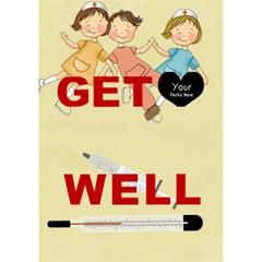 Get Well 1 By Lillyskite   Get Well 3d Greeting Card (7x5)   4woecqrzacvw   Www Artscow Com Inside