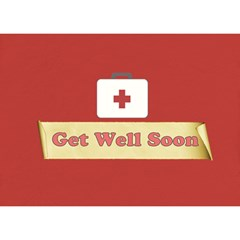 Get Well 1 By Lillyskite   Get Well 3d Greeting Card (7x5)   4woecqrzacvw   Www Artscow Com Back