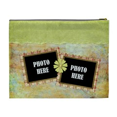 Primavera Xl Cosmetic Bag 1 By Lisa Minor   Cosmetic Bag (xl)   Jyf1rm93eo9j   Www Artscow Com Back