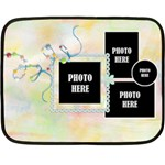 Patches 1 Sided Blanket 1 - Fleece Blanket (Mini)