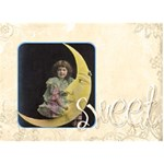Sweet Love 3d card - LOVE 3D Greeting Card (7x5)