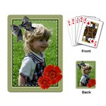 Little Green - Playing Cards Single Design